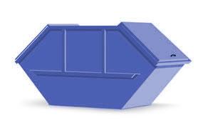 Absetzcontainer mit Deckel